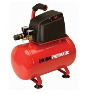 Central Pneumatic 3 Gallon air compressor