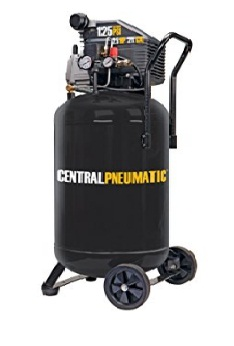 Central pneumatic 21 gallon air compressor